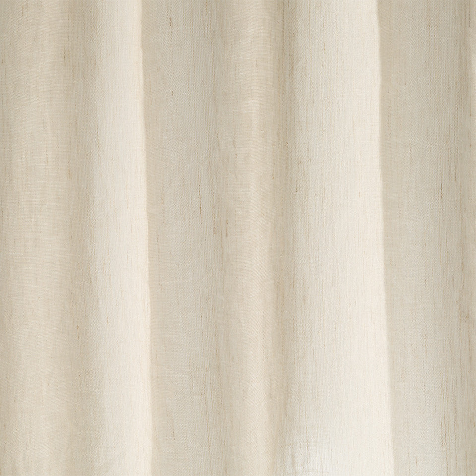 Matte Sheers Pacific Scrim Fabric - Grain
