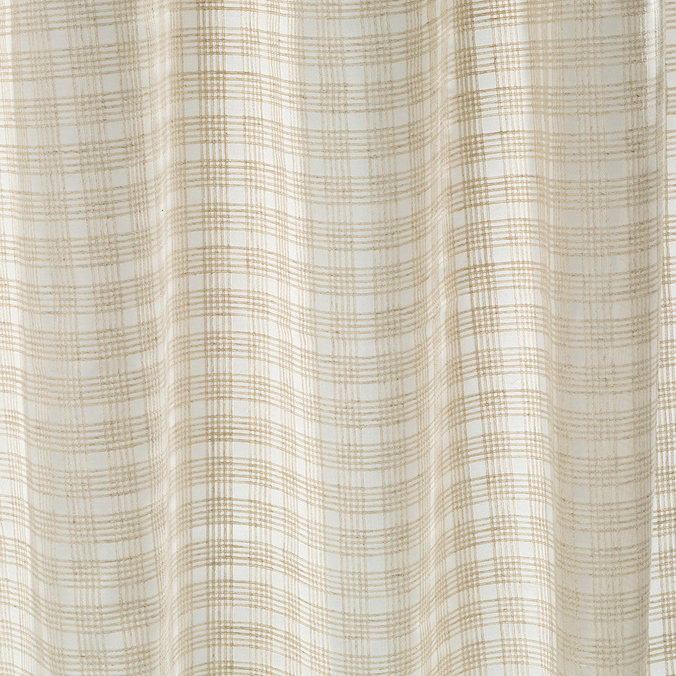 Patterned Sheers Enamored Fabric - Whitewash