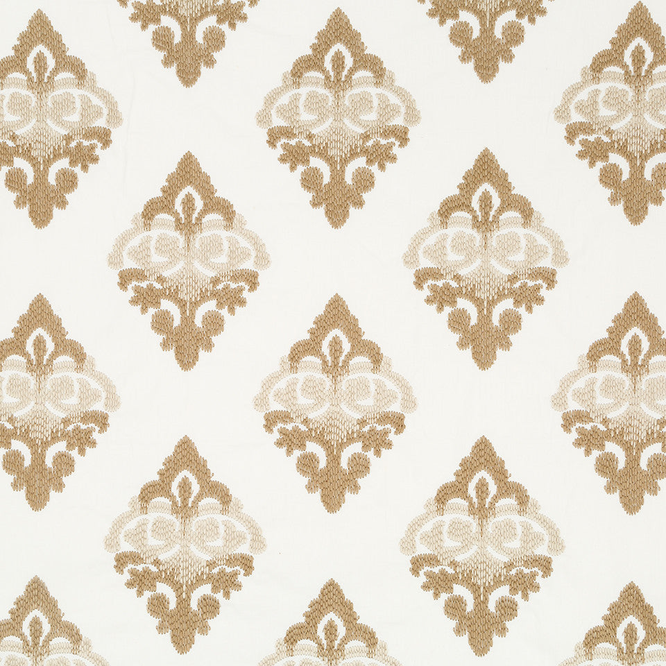 Sandstone-Sterling-Glacier Decor Stitch Fabric - Sandstone