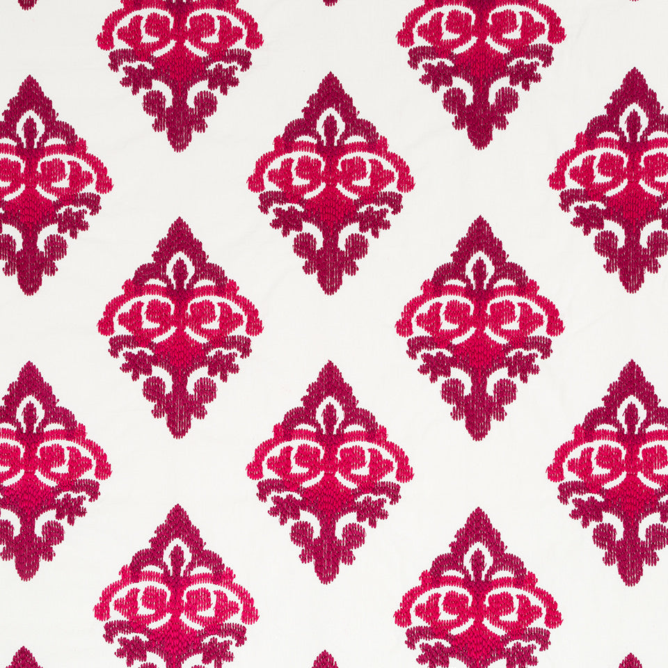 Henna-Cassis-Beet Decor Stitch Fabric - Cassis