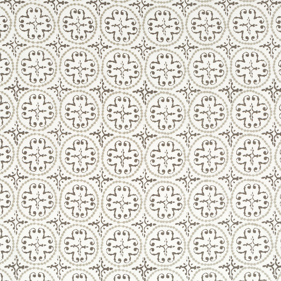 Sandstone-Sterling-Glacier Print N Stitch Fabric - Sterling