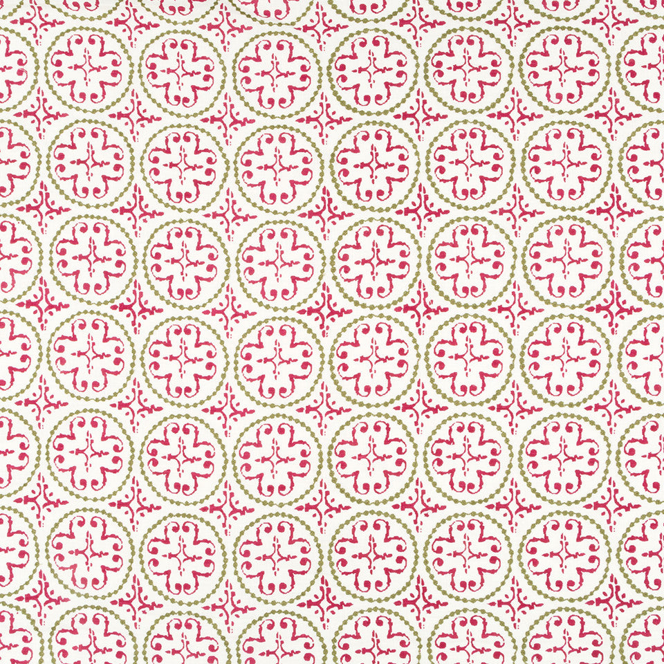 Henna-Cassis-Beet Print N Stitch Fabric - Cassis