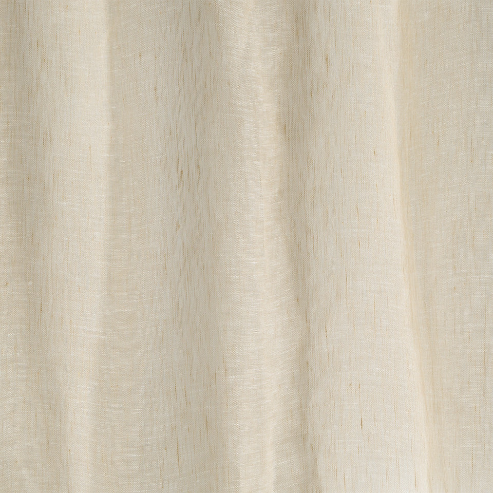 Matte Sheers Bare Linen Fabric - Sandstone