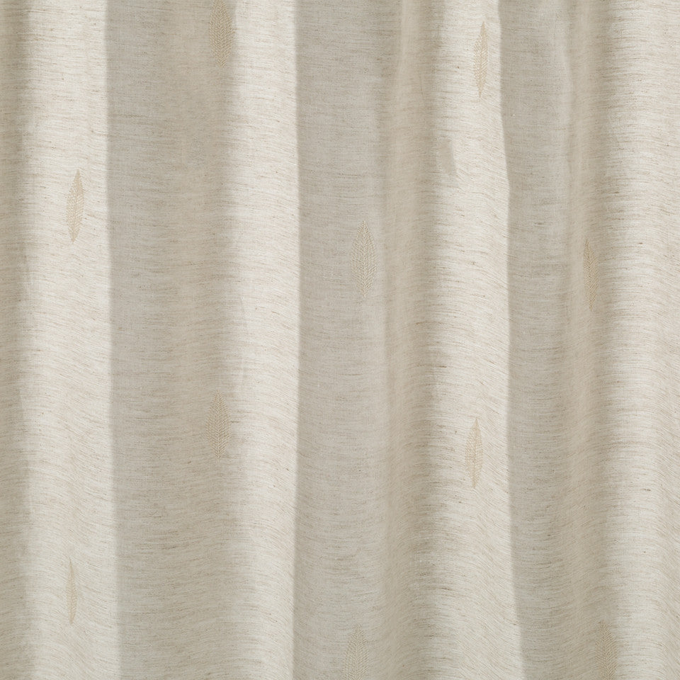 Patterned Sheers Lavande Fabric - Driftwood