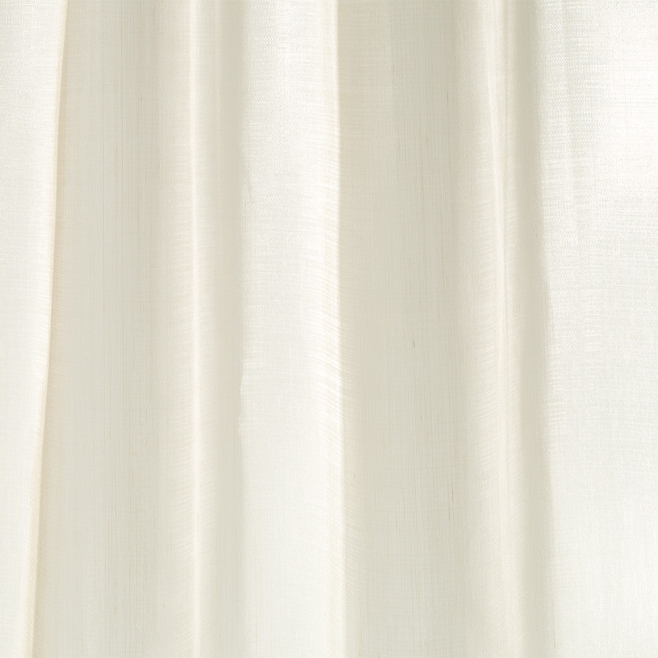 Lustrous Sheers Gambit Sheer Fabric - Buff
