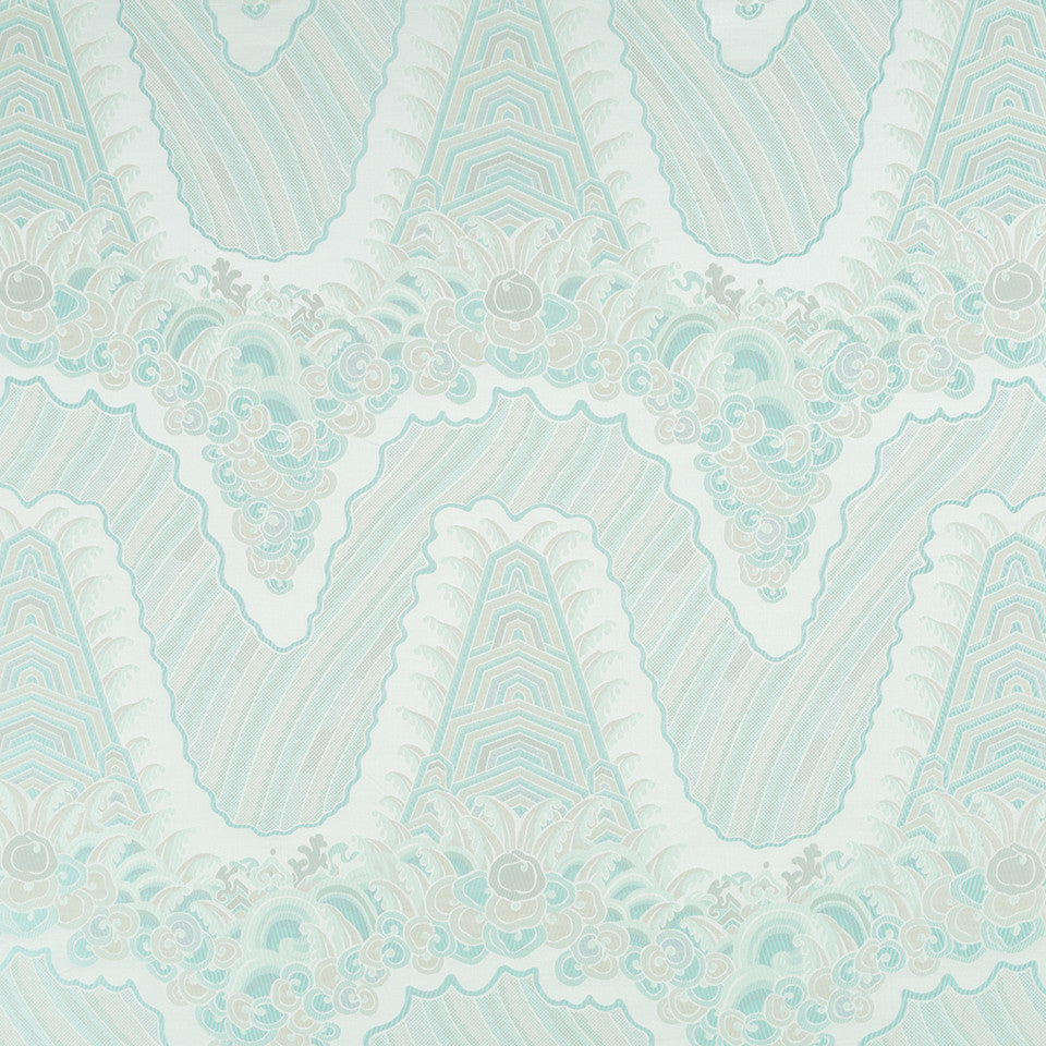 SILK BEST SELLERS 16 Silk Ocean Fabric - Surf