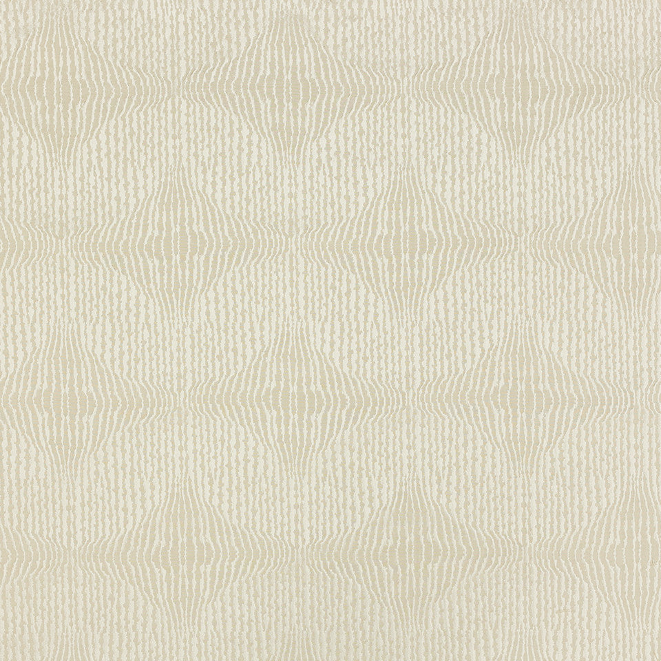 Decorative Drapery Warm Colors Rippled Tide Fabric - Driftwood