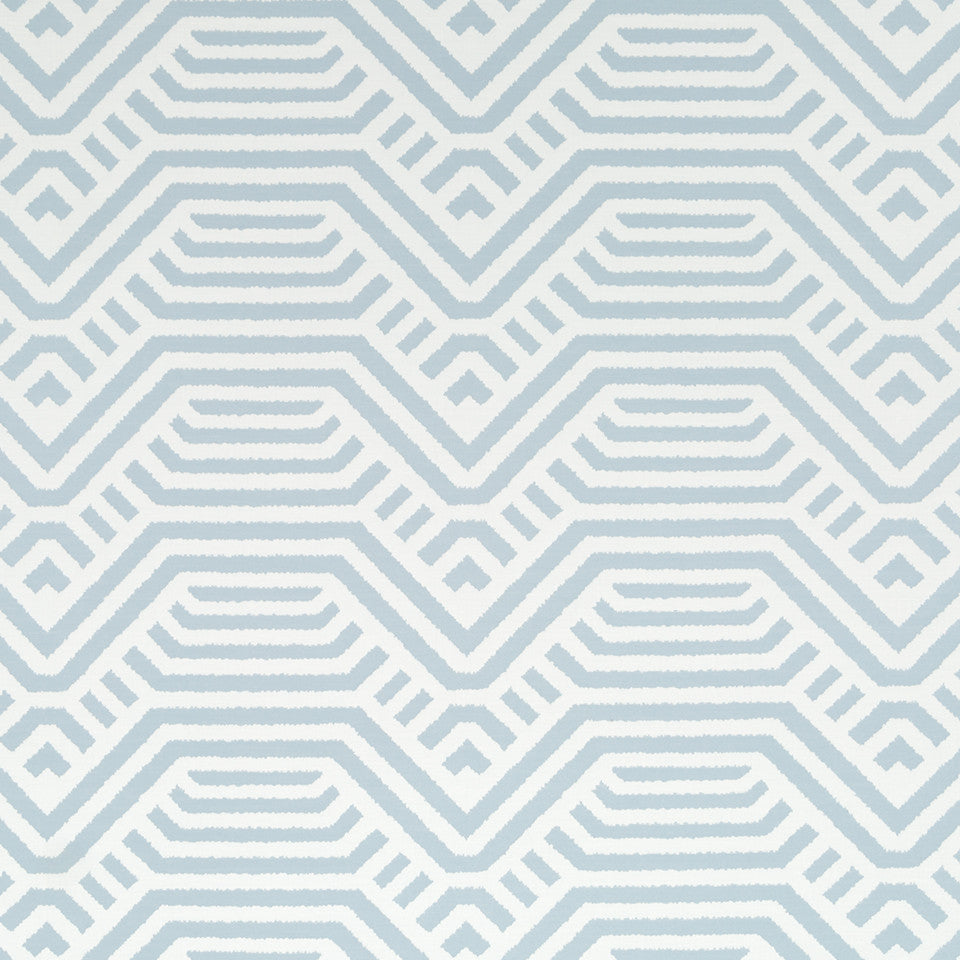 Mussel Shell-Batik Blue-Chambray Road Home Fabric - Chambray