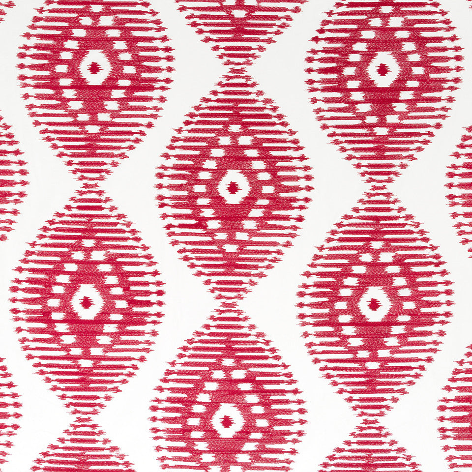Henna-Cassis-Beet Power Surge Fabric - Cassis