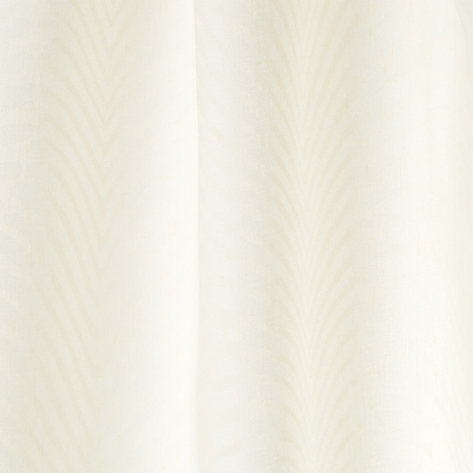 Patterned Sheers Deco Dream Fabric - Pale Cream