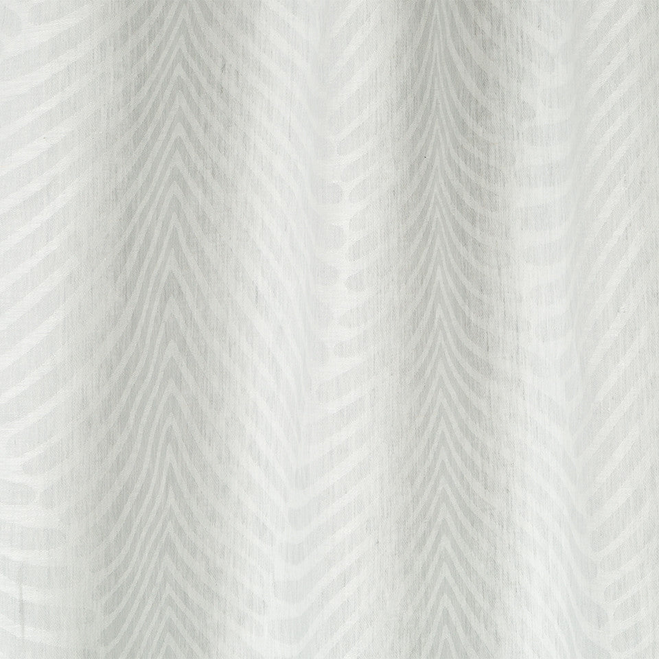 Patterned Sheers Deco Dream Fabric - Zinc