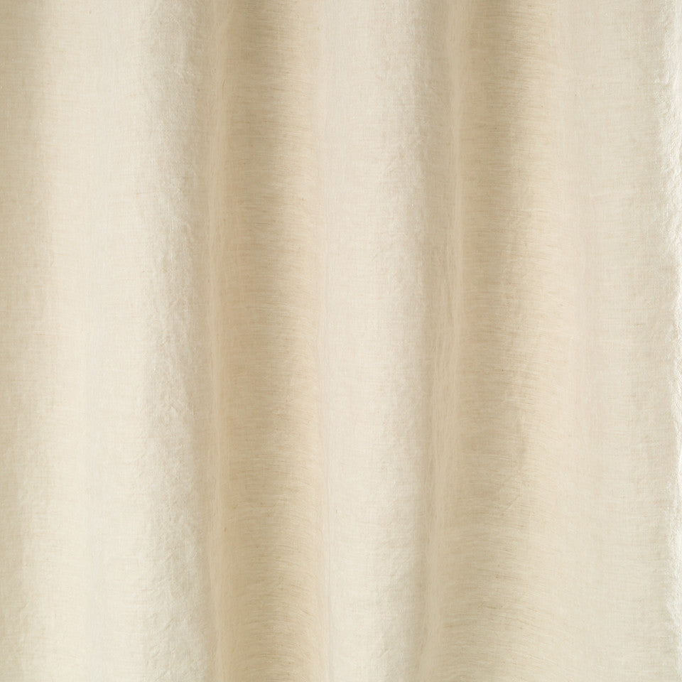 Matte Sheers Pure Lino Fabric - Grain