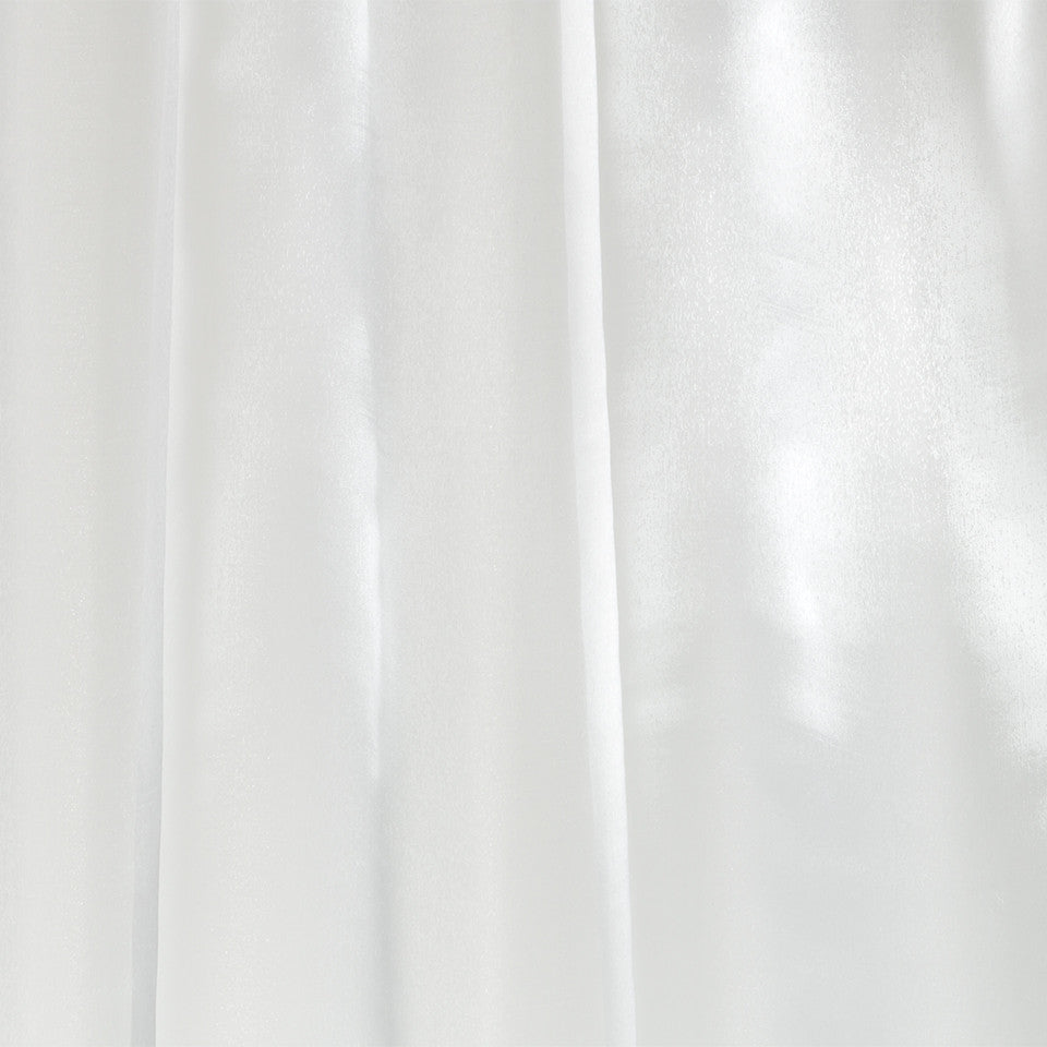Lustrous Sheers Selenite Fabric - Alabaster