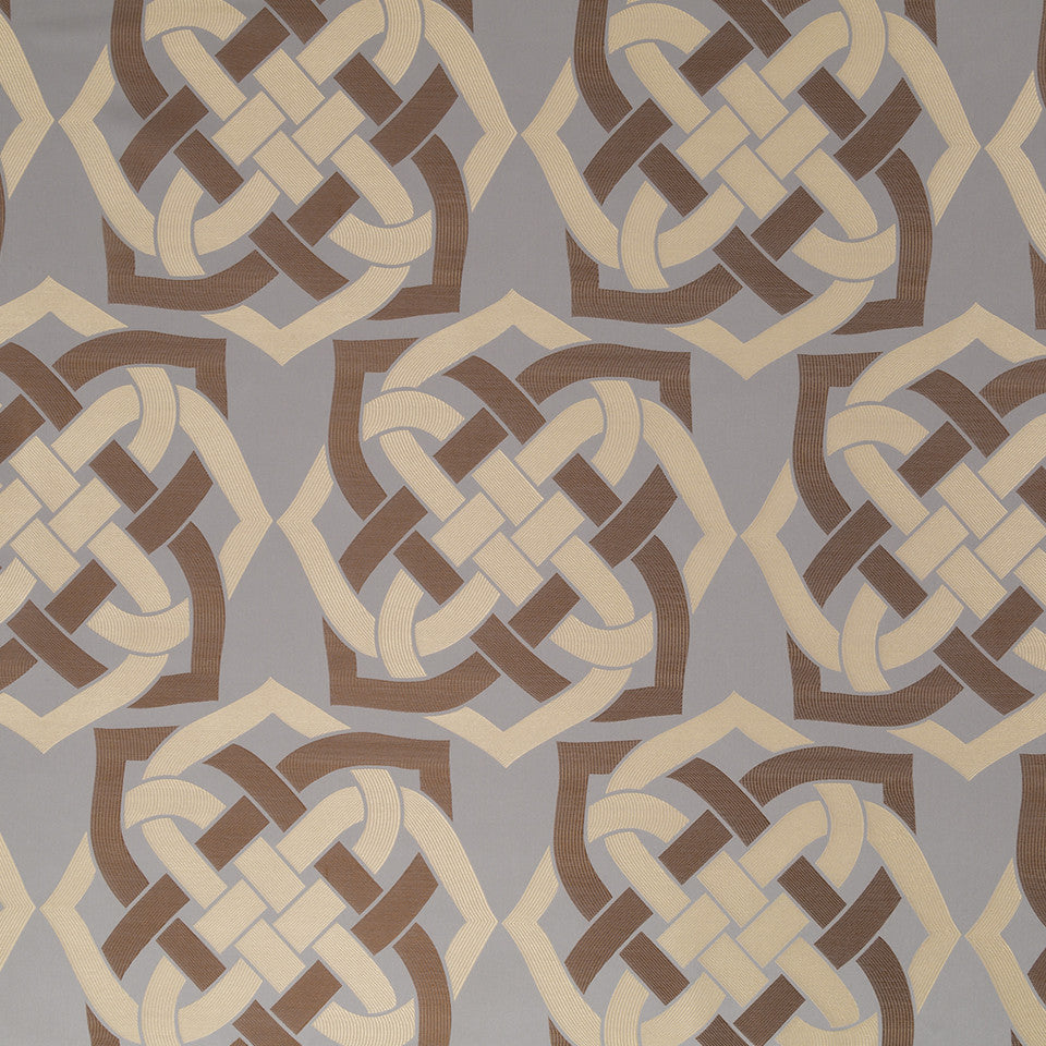 Eclectic Multi-Use Fabrics II Gordian Knot Fabric - Bronze
