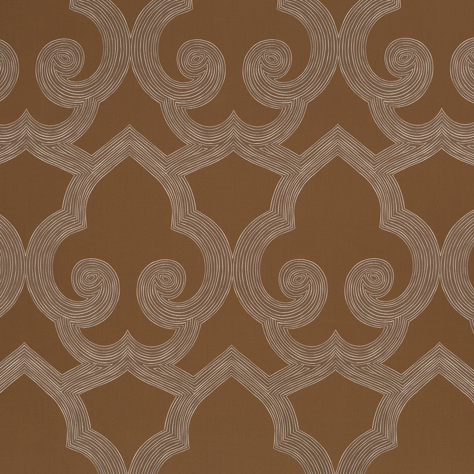 Eclectic Multi-Use Fabrics II Tucked Frame Fabric - Bronze