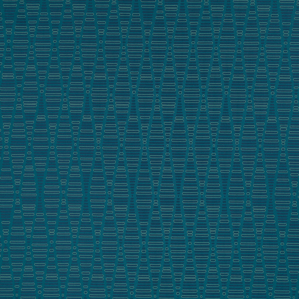 Eclectic Multi-Use Fabrics II Edge Stitch Fabric - Azure