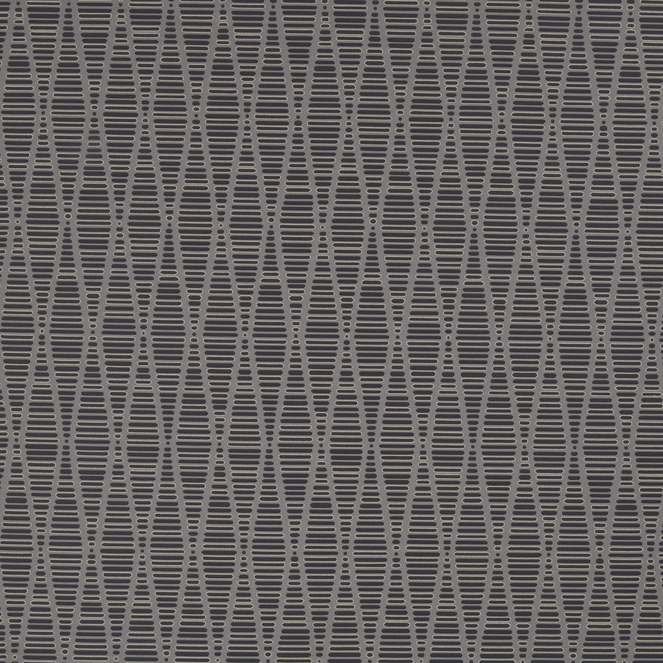 Eclectic Multi-Use Fabrics II Edge Stitch Fabric - Charcoal