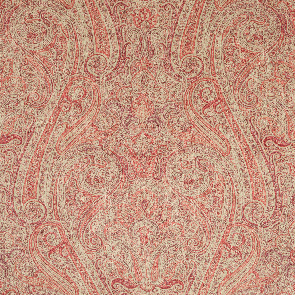 Henna-Cassis-Beet Happy Place Fabric - Cassis