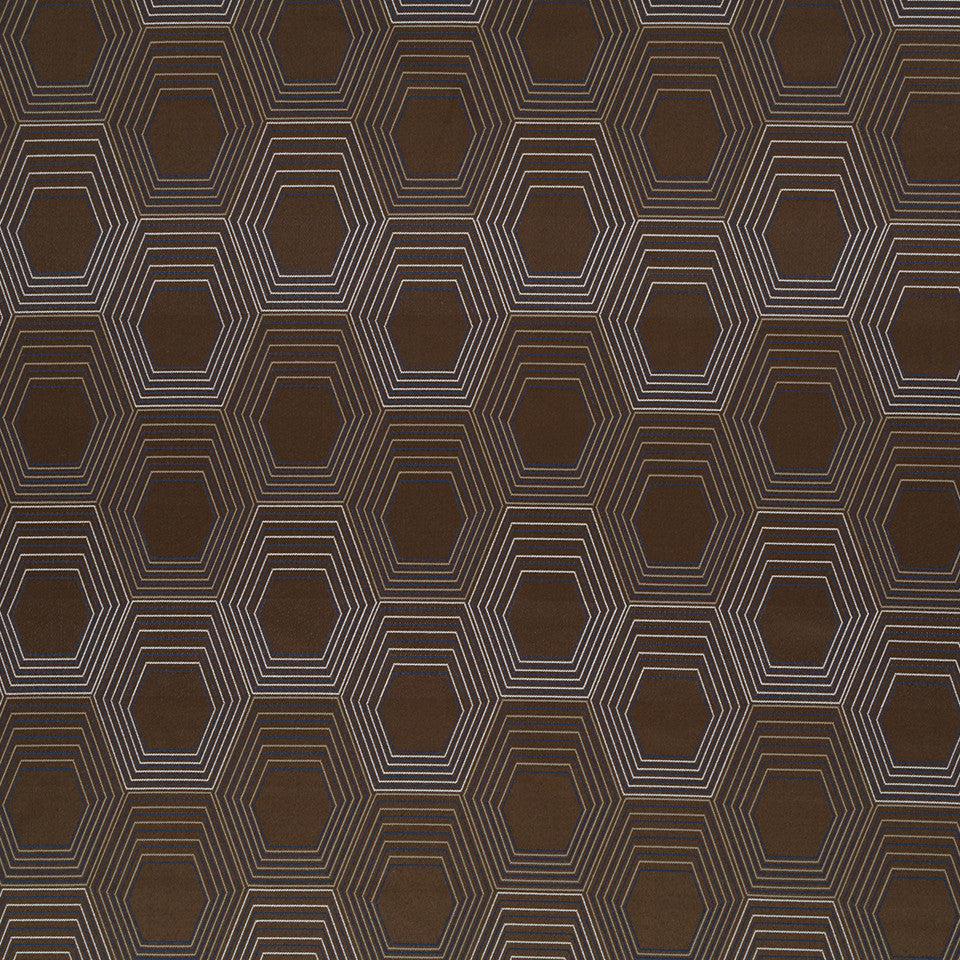 Copper-Stone-Ink Super Bee Fabric - Espresso