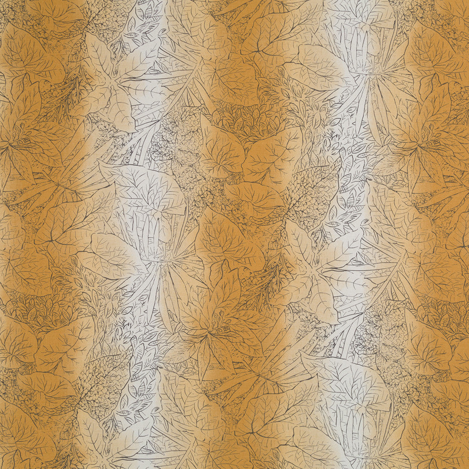 Kena Ombre Fabric - Amber