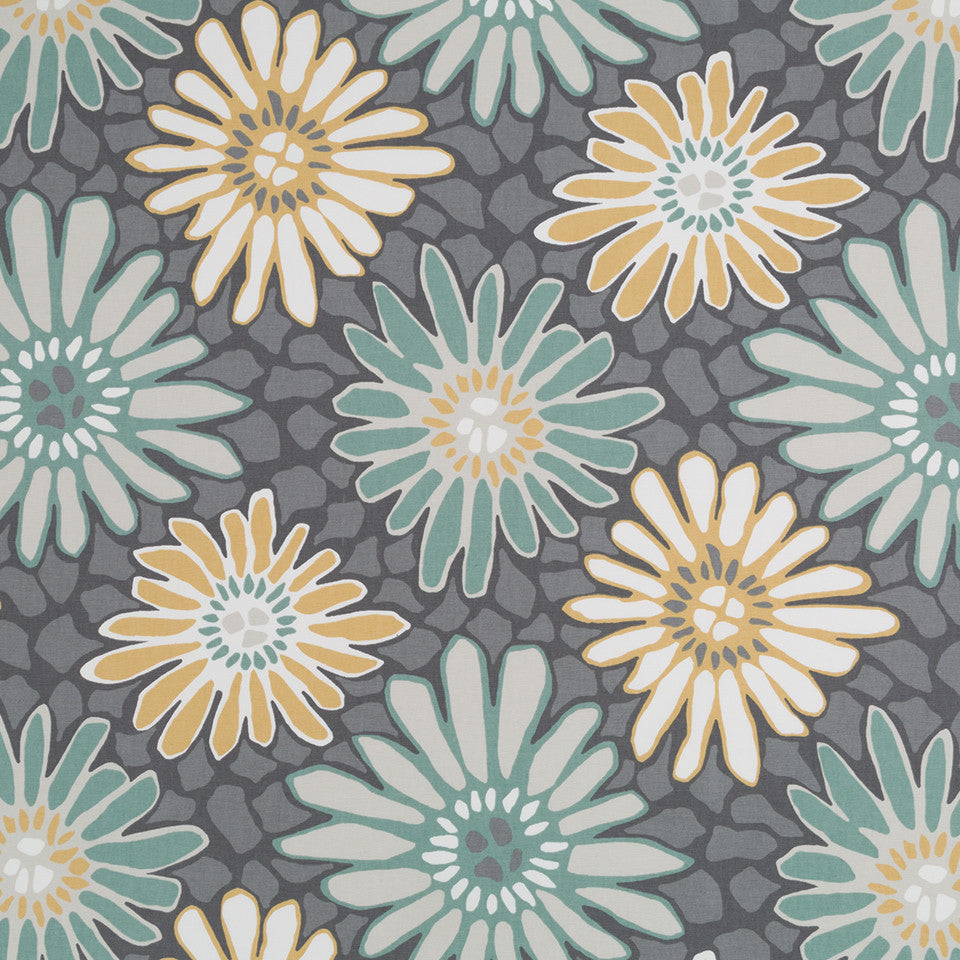 Tactile Flora Fabric - Dew