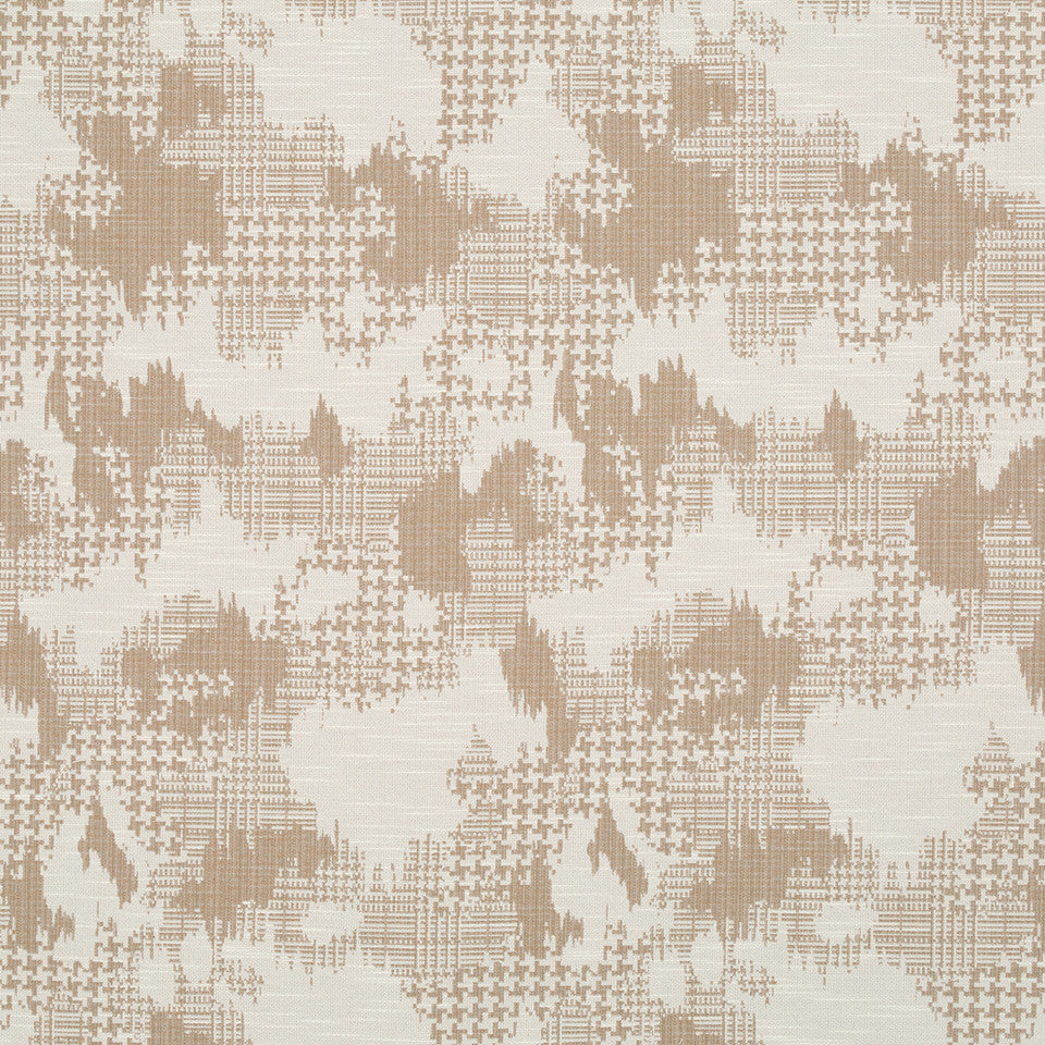Plaid World Fabric - Linen