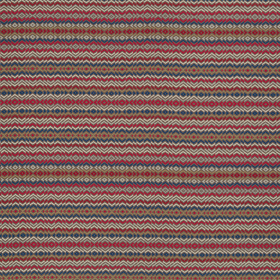 Copper-Stone-Ink Choctaw Fabric - Stone