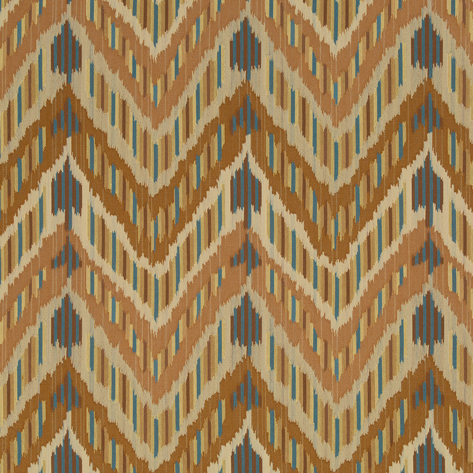 Copper-Stone-Ink Pima Point Fabric - Copper