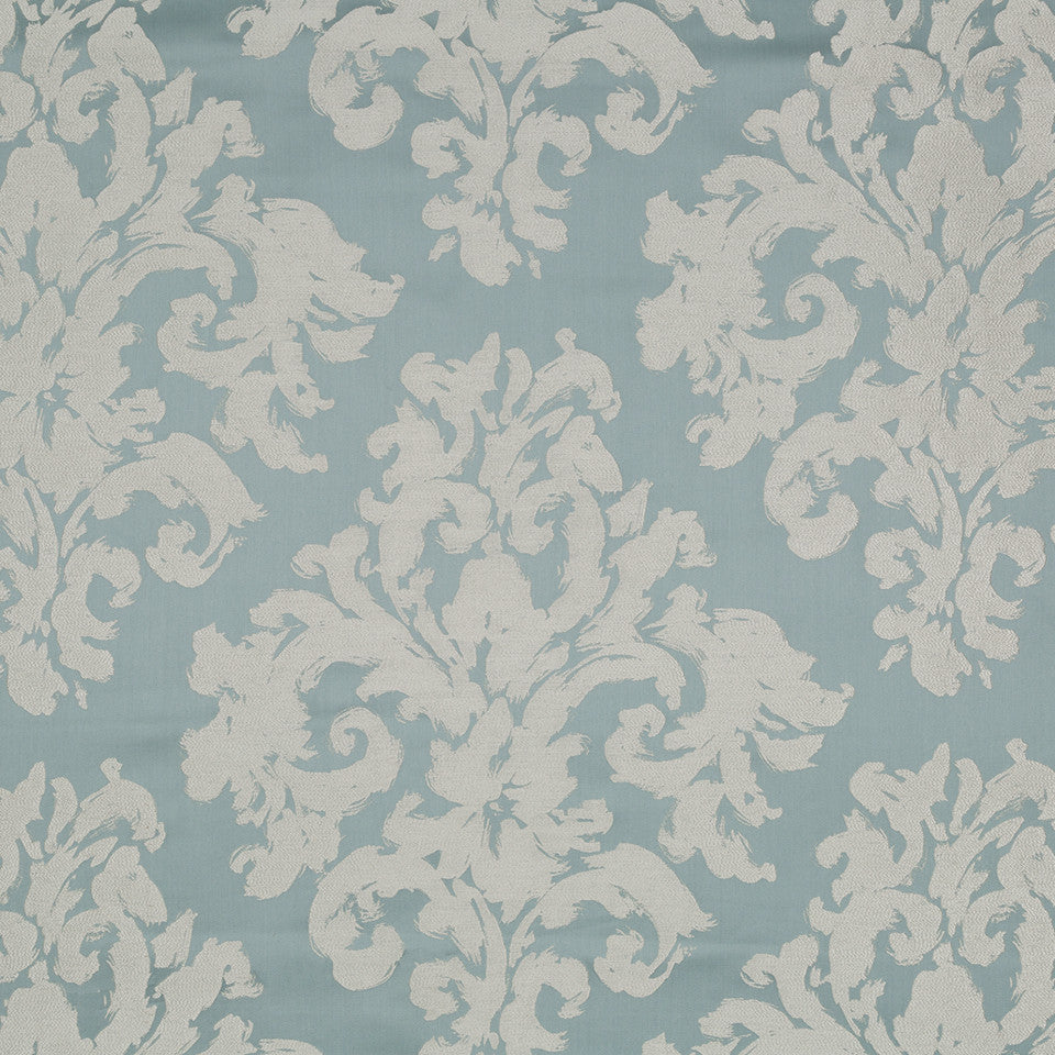 Decorative Drapery Cool Colors Wisp Away Fabric - Blue Opal