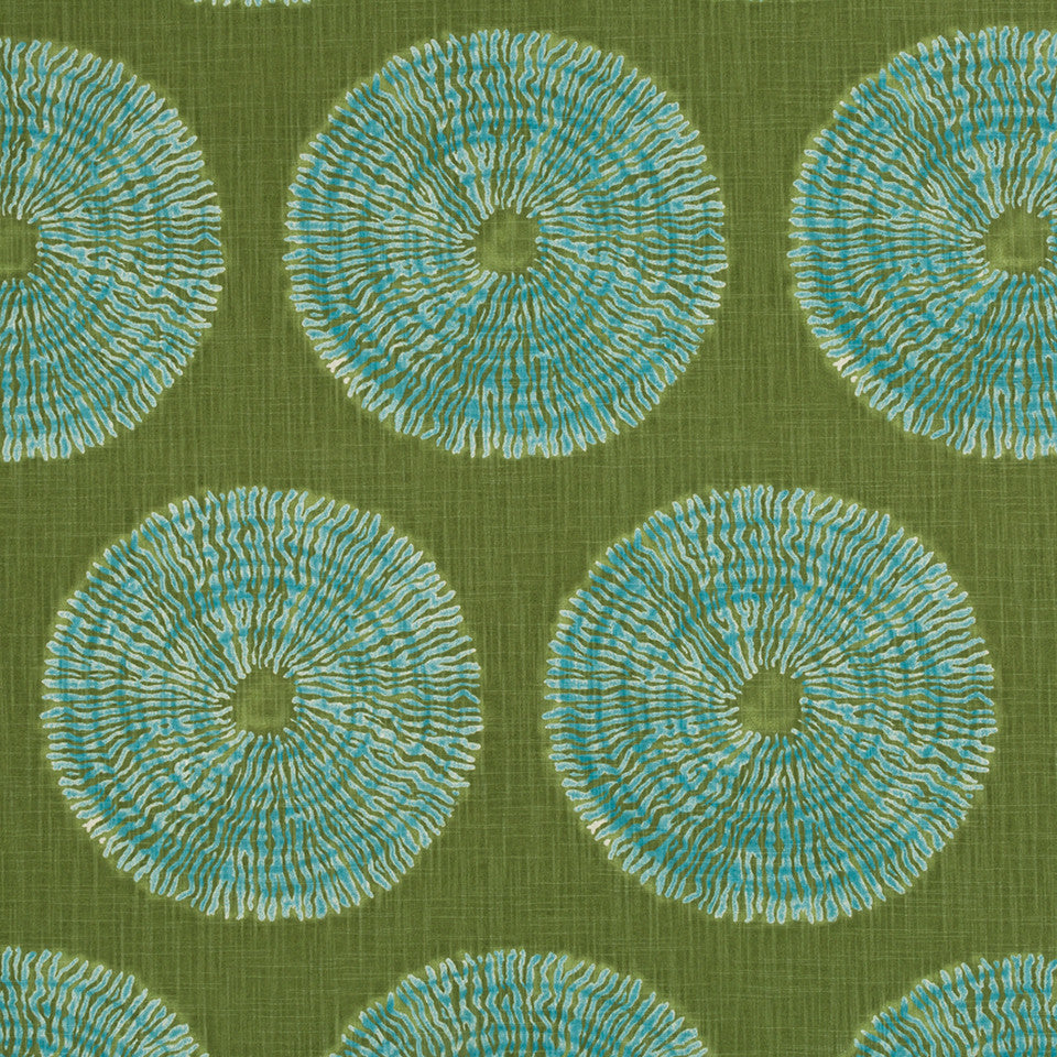 Shibori Sol Fabric - Seaglass