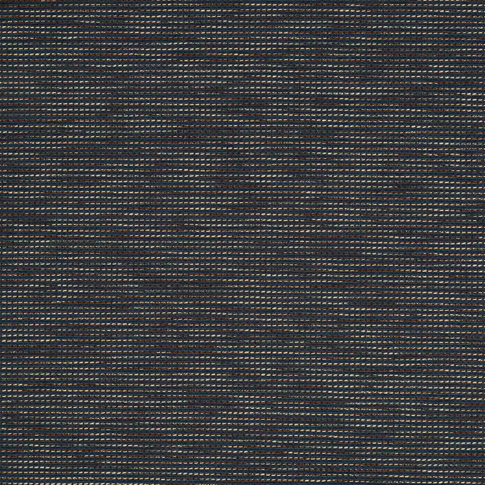 Nano-Tex Modern Uph Mirror Line Fabric - Denim