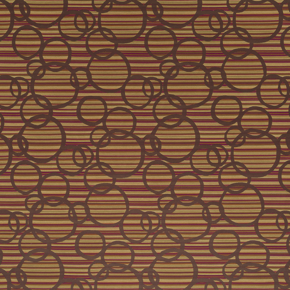 Nano-Tex Modern Uph Scope Circle Fabric - Orchid