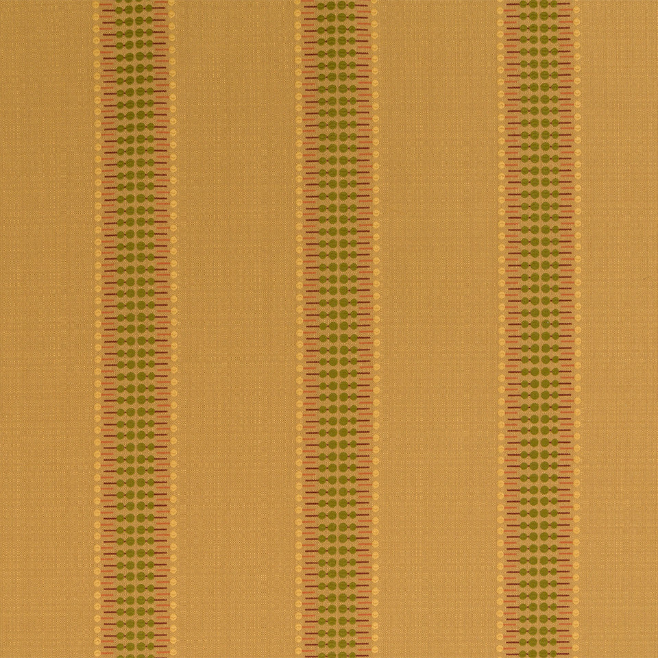 Nano-Tex Modern Uph Lolli Stripe Fabric - Goldenrod