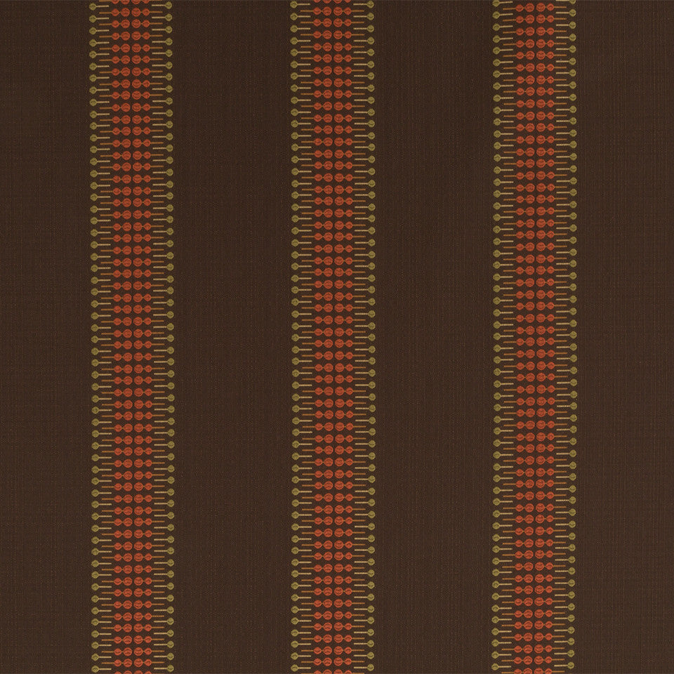 Nano-Tex Modern Uph Lolli Stripe Fabric - Java