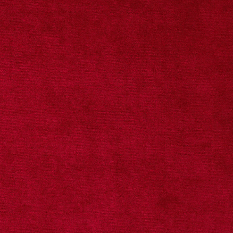 Drapeable Velvet Luxe Look Fabric - Lacquer Red