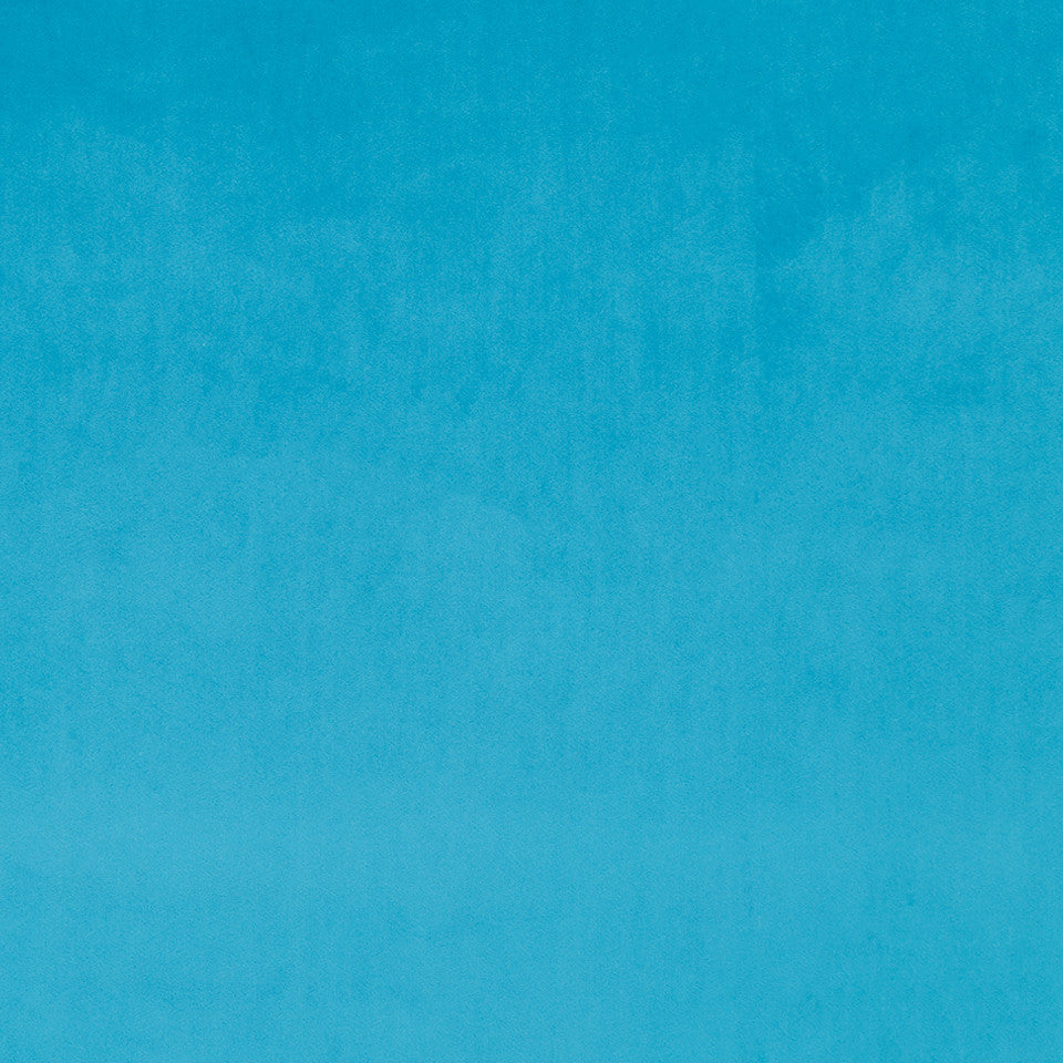 Drapeable Velvet Touche Fabric - Calypso Blue