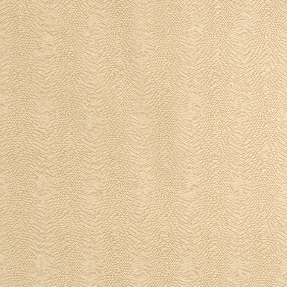 Faux Leather Textures Sleek Cobra Fabric - Sandstone