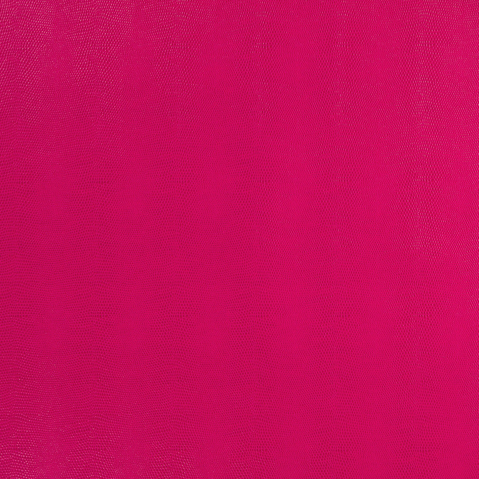 Faux Leather Textures Sleek Cobra Fabric - Fuchsia