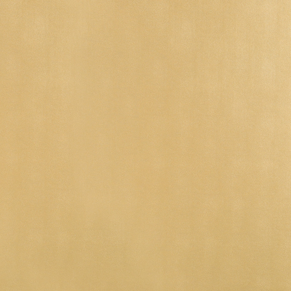 Faux Leather Textures Metal Solid Fabric - Gold Leaf
