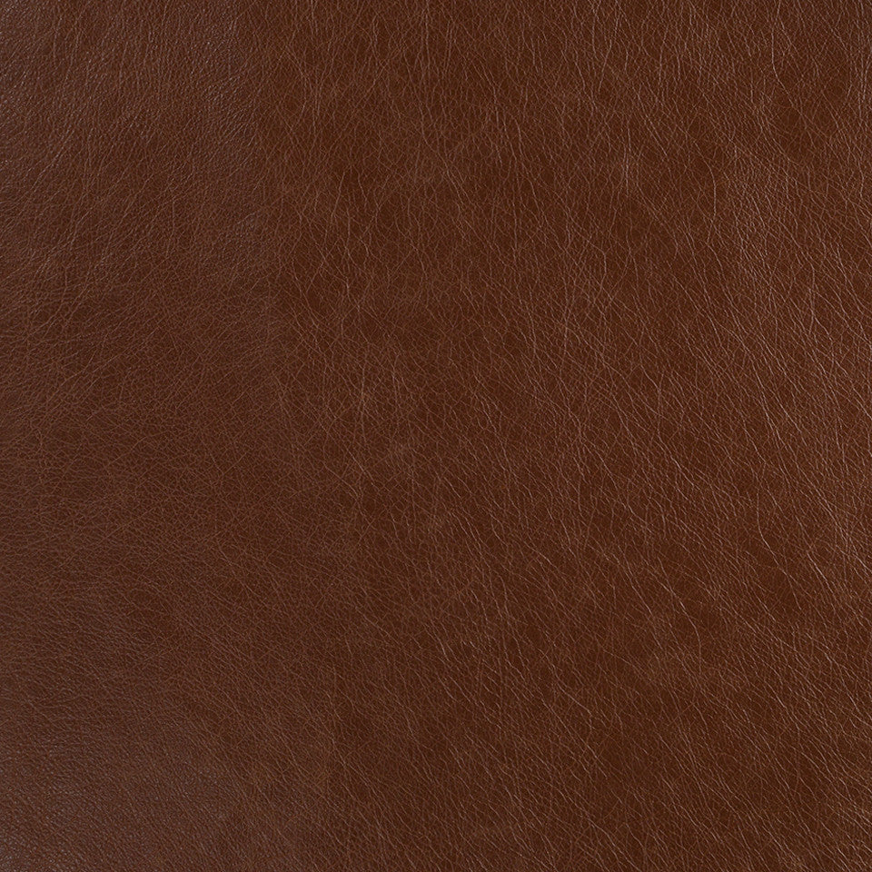 Faux Leather Textures Classic Hide Fabric - Chocolate