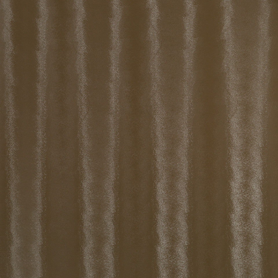 Faux Leather Textures Matte Pony Fabric - Walnut