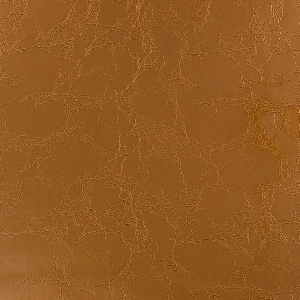 Faux Leather Textures Croc Couture Fabric - Bronze
