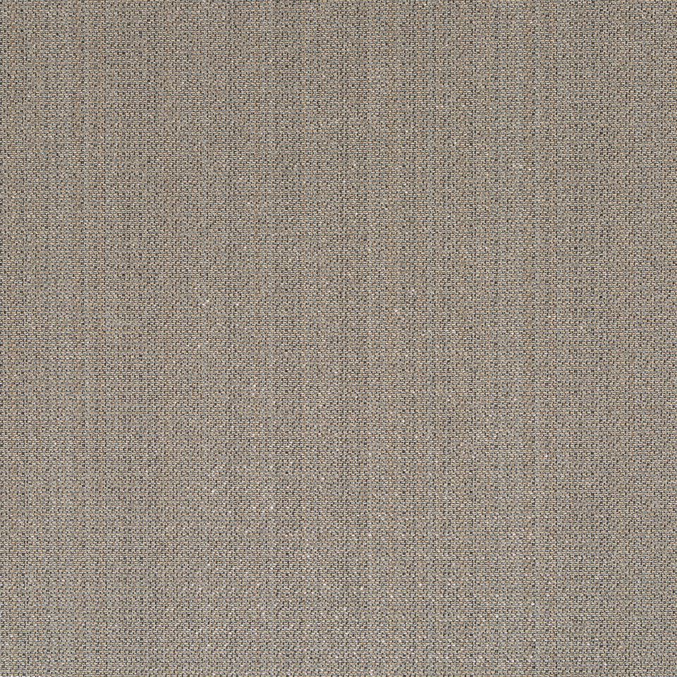 Luxe Natural Plated Grid Fabric - Slate