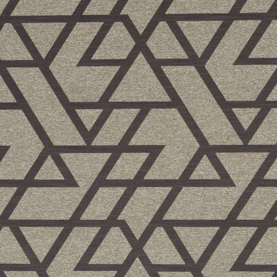 Luxe Natural Formed Frame Fabric - Slate