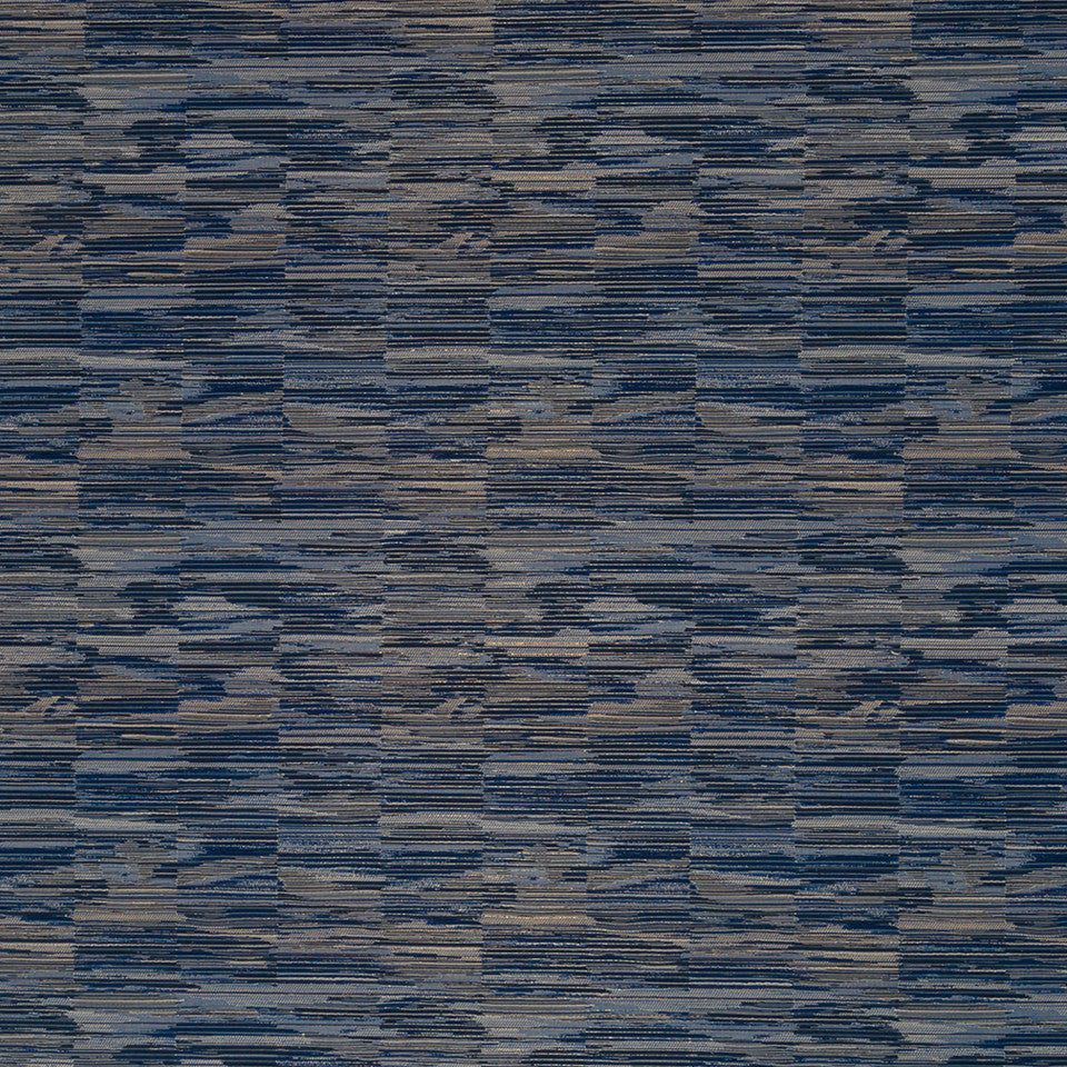 Luxe Natural Contour Cut Fabric - Indigo