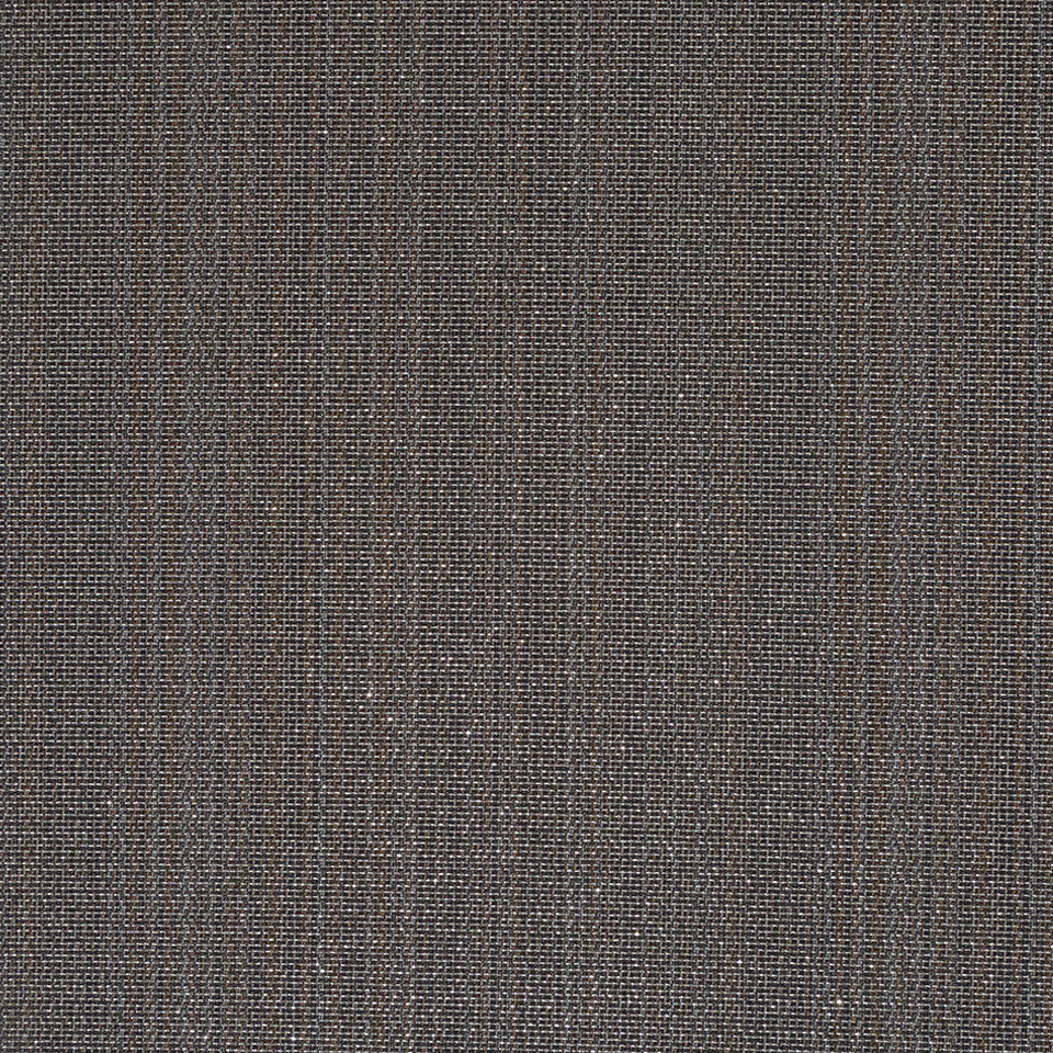 Luxe Natural Plated Grid Fabric - Graphite