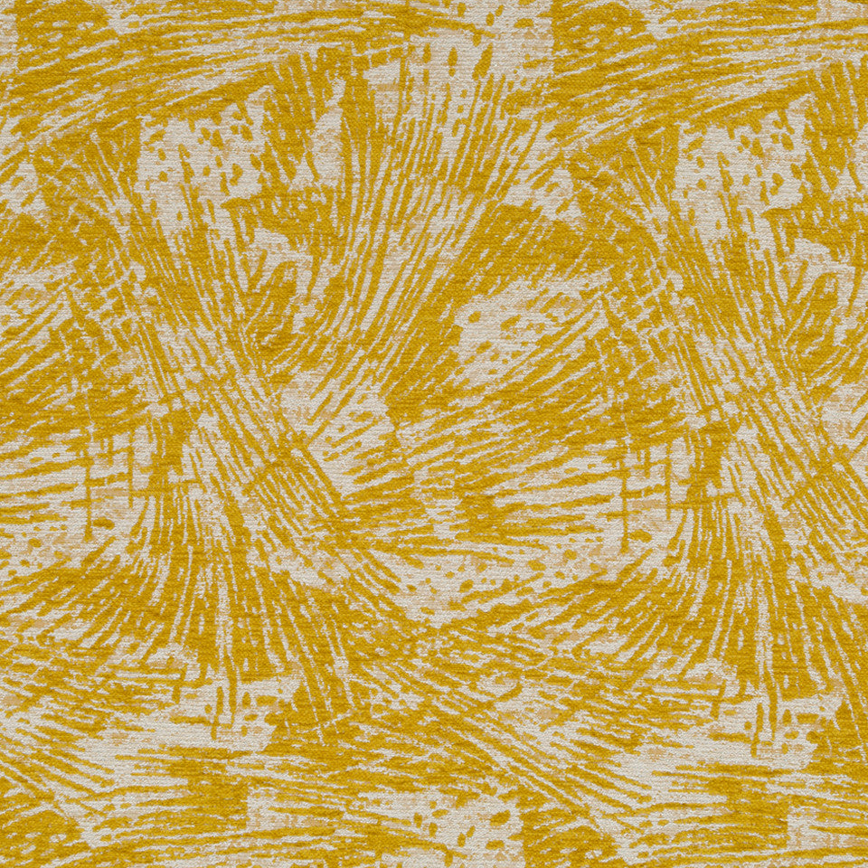 Luxe Natural Mottled Burst Fabric - Citrine