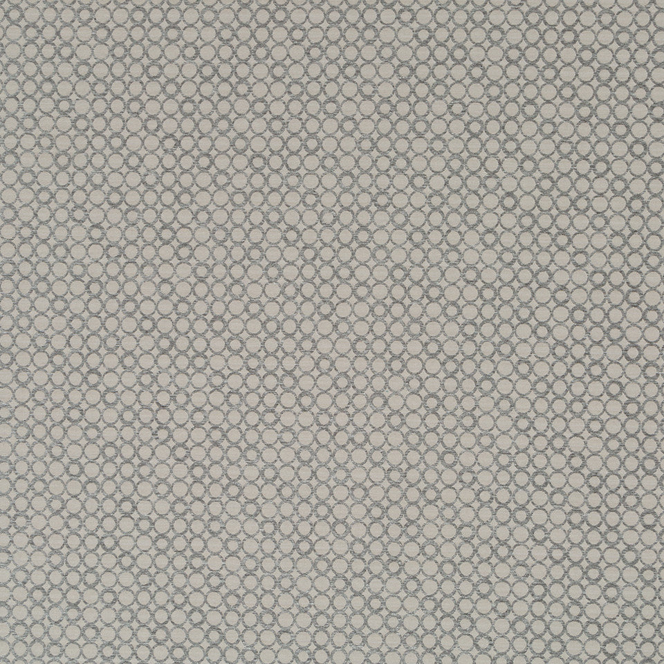 Luxe Natural Circle Rivets Fabric - Abalone