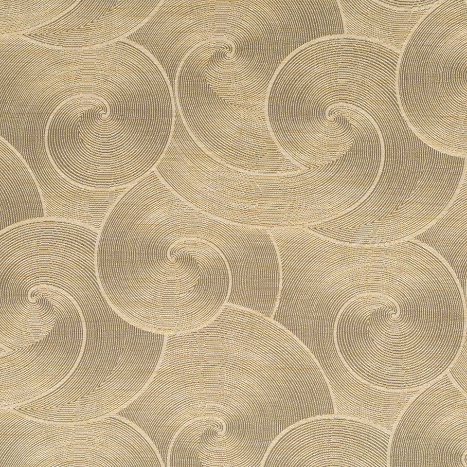 Luxe Natural Hewn Spiral Fabric - Stardust