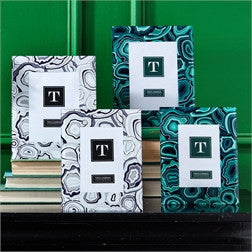Malachite Picture Frames